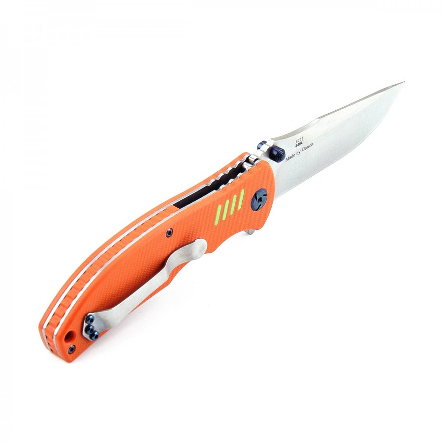Knife Firebird F7511 (Black, Green, Orange)